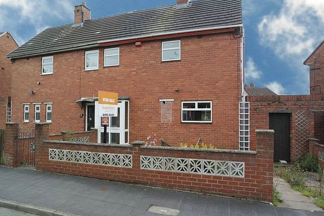 Thumbnail Semi-detached house for sale in Chilworth Grove, Blurton, Stoke-On-Trent, Staffordshire