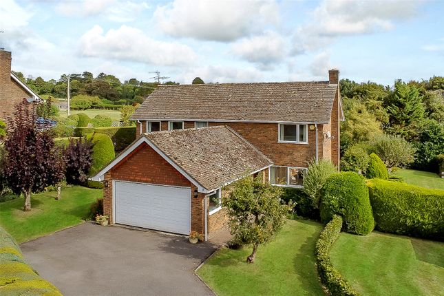 Thumbnail Detached house for sale in Weston Close, Upton Grey, Basingstoke, Hampshire