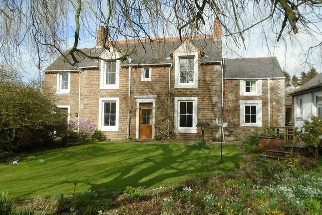 Thumbnail Detached house for sale in Thurstonfield, Carlisle, Cumbria