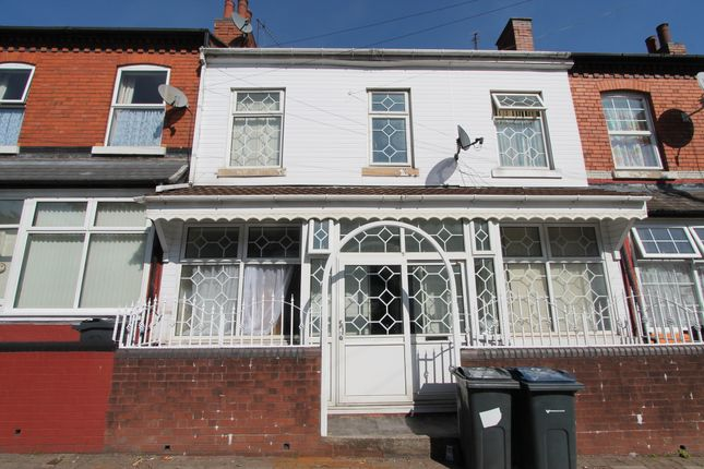 Thumbnail Terraced house to rent in Grassmere Road, Handsworth