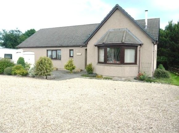 Thumbnail Detached bungalow to rent in Sarafand, Broadley, Buckie