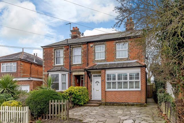 Thumbnail Semi-detached house for sale in Lordship Road, Writtle, Chelmsford