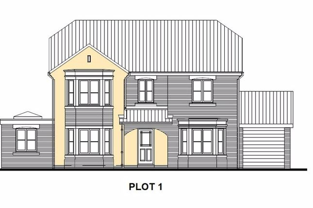Thumbnail Detached house for sale in Plot 1 Buffs Lane, Heswall, Wirral