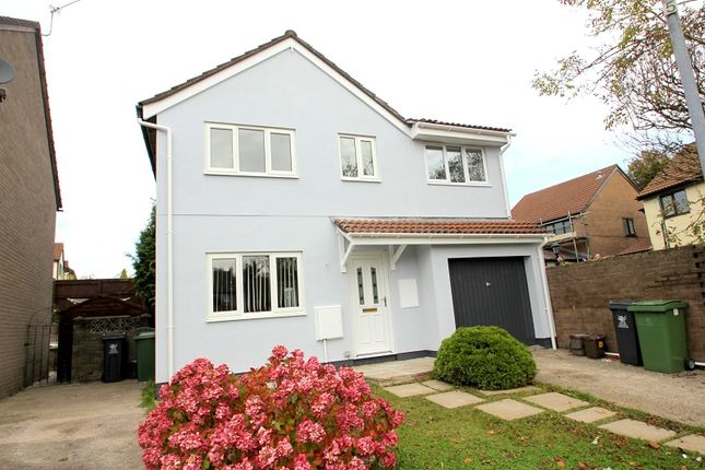 4 bed detached house for sale in Falconwood Drive, Michaelston-Super-Ely, Cardiff
