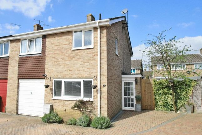 Thumbnail End terrace house for sale in Argosy Close, Chalgrove, Oxford