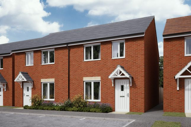 Thumbnail Semi-detached house for sale in Plots 155 Hele Park, Newton Abbot