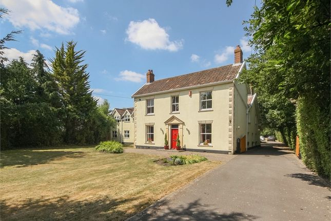 Detached house for sale in The Laurels, Old Coach Road, Lower Weare, Axbridge