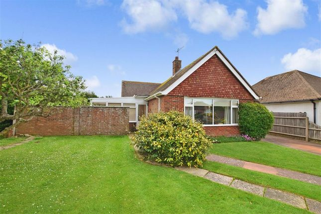 Thumbnail Detached bungalow for sale in Walpole Avenue, Goring-By-Sea, Worthing, West Sussex