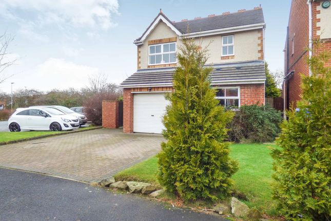 Thumbnail Detached house for sale in Silverdale Road, Cramlington