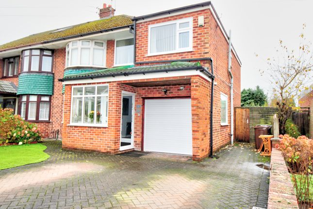 Thumbnail Semi-detached house for sale in Penrith Crescent, Maghull, Liverpool