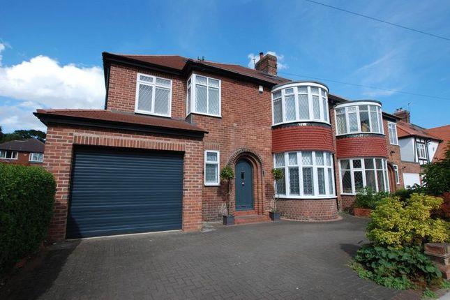 Thumbnail Semi Detached House For Sale In Fernville Road Gosforth Newcastle Upon Tyne