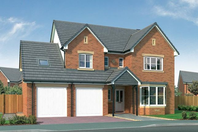 "Thumbnail Detached house for sale in ""Humber"" at Stevenston Street, New Stevenston, Motherwell"