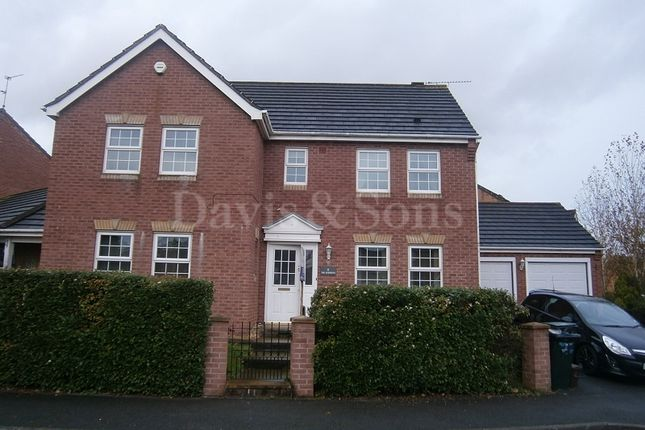 Thumbnail Detached house to rent in The Nurseries, Langstone, Newport, Newport.