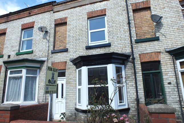 Thumbnail Terraced house to rent in Prospect Road, Scarborough