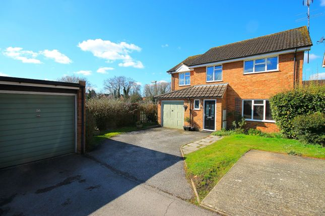 Thumbnail Detached house for sale in Oldbury Close, Frimley, Camberley
