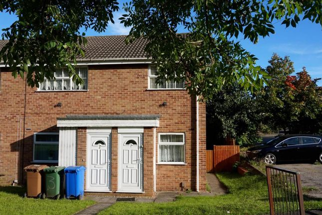 Thumbnail Flat to rent in Larkspur Close, Forest Town, Mansfield