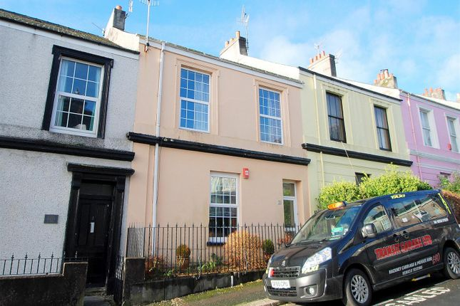 Thumbnail Terraced house for sale in Rutger Place, Stoke, Plymouth