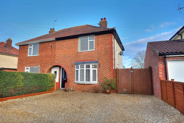 Thumbnail Semi-detached house for sale in Cozens-Hardy Road, Norwich