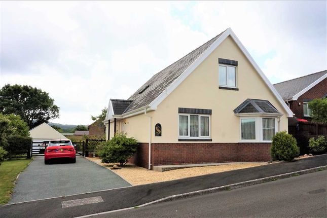 Thumbnail Detached bungalow for sale in Uwch Gwendraeth, Drefach, Llanelli