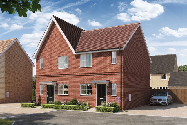 Thumbnail Semi-detached house for sale in The Orchards, Off Ipswich Road, Colchester Essex