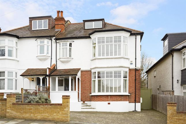 Semi-detached house for sale in Pepys Road, West Wimbledon