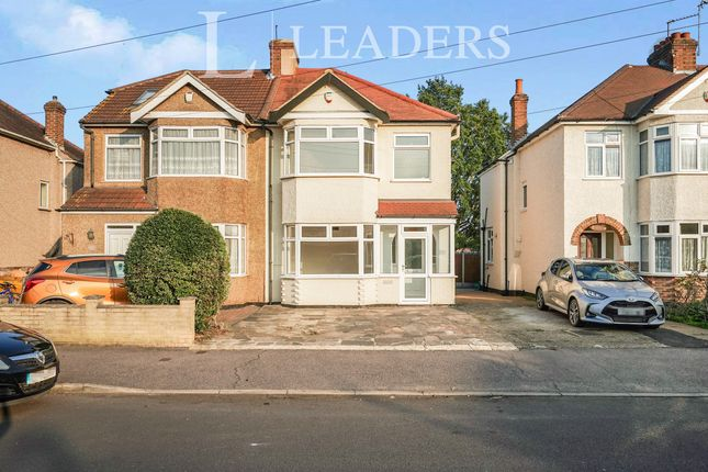 Thumbnail Semi-detached house to rent in Grosvenor Drive, Hornchurch