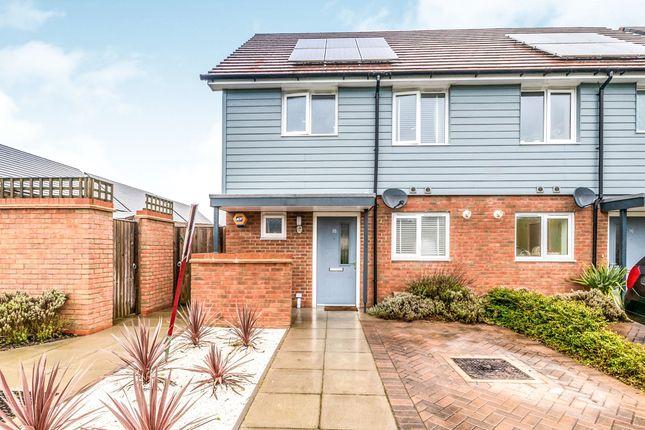 Semi-detached house for sale in Waterfall Crescent, Bewbush, Crawley