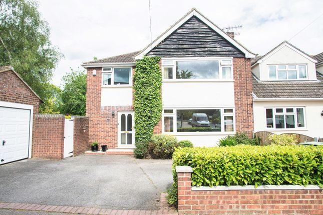 Thumbnail Semi-detached house for sale in The Gardens, Doddinghurst, Brentwood