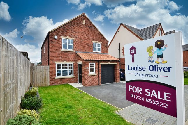 Thumbnail Detached house for sale in Bentley Court, Scunthorpe