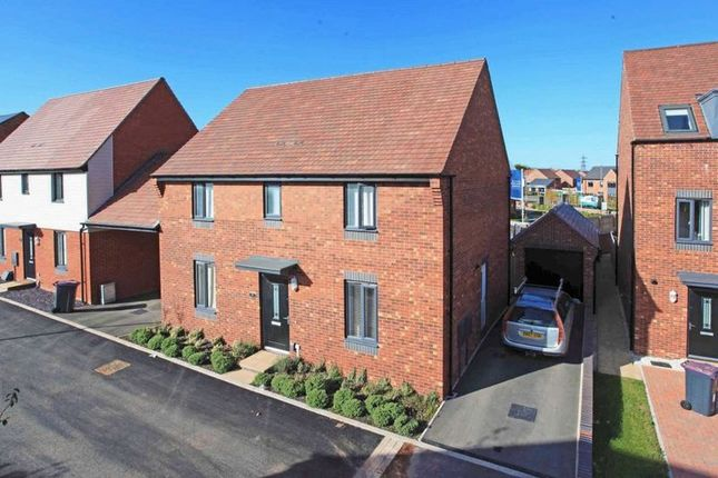 Thumbnail Detached house for sale in Booth Crescent, Telford