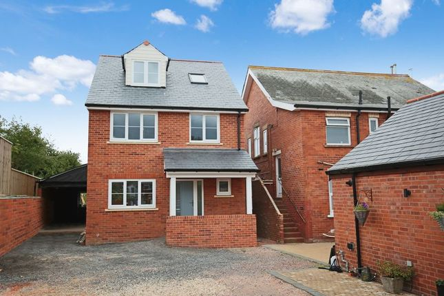 Thumbnail Detached house for sale in Estuary, Littlemead Lane, Exmouth