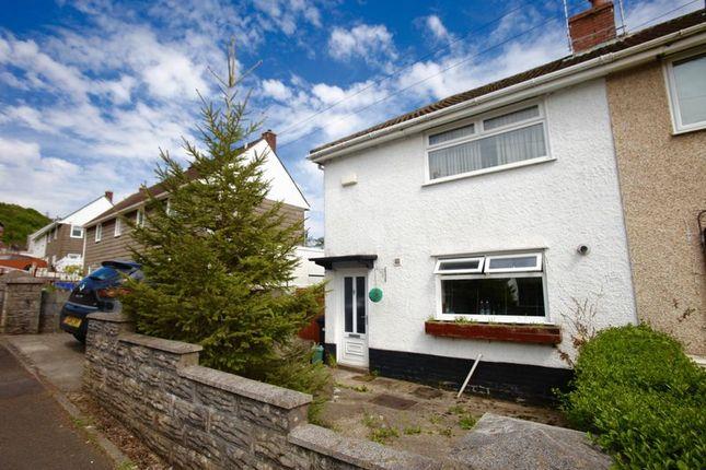 Thumbnail Semi-detached house to rent in Tanydarren, Cilmaengwyn, Pontardawe, Swansea