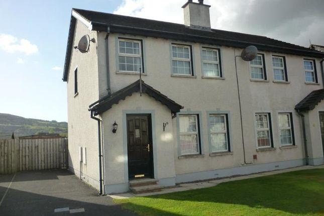 Thumbnail Semi-detached house to rent in Braden Glen, Newtownabbey