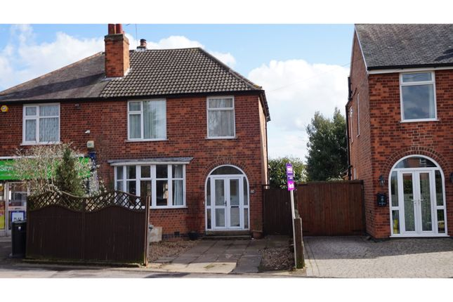 Thumbnail Semi-detached house for sale in Melton Road, Syston