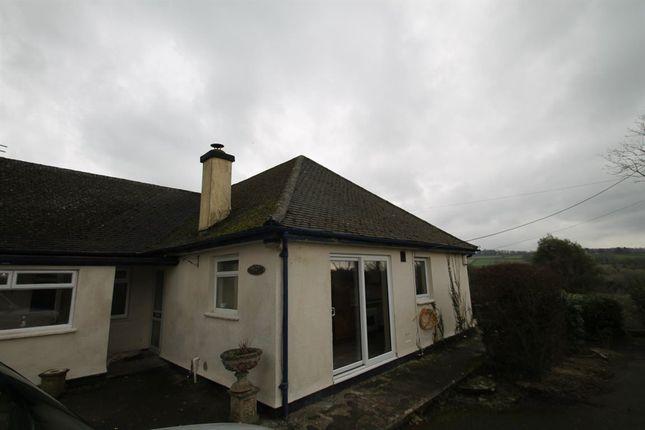 Thumbnail Bungalow to rent in Milton Combe, Yelverton