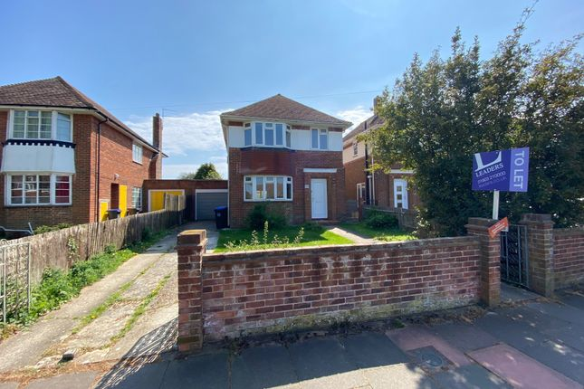 Thumbnail Detached house to rent in Palatine Road, Goring-By-Sea, Worthing