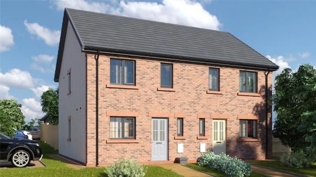 Thumbnail Semi-detached house for sale in Plot 28 The Petterill, St. Cuthberts, Off King Street, Wigton