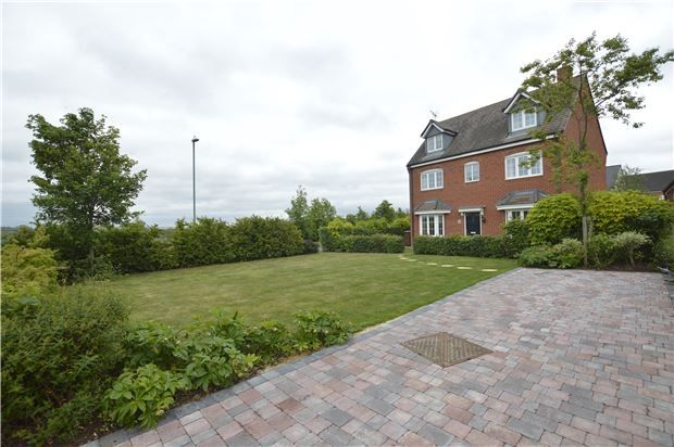 Thumbnail Detached house for sale in 8 Melrose Walk, Rosefields, Tewkesbury, Gloucestershire