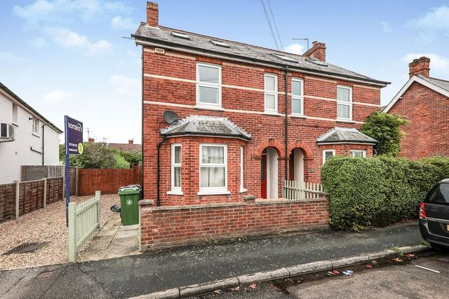 Thumbnail Semi-detached house to rent in Alexandra Avenue, Camberley