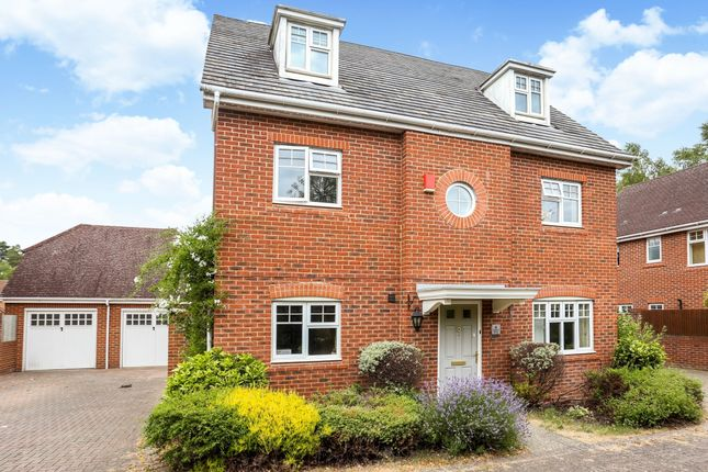 Thumbnail Detached house to rent in Cudbury Drive, Fleet