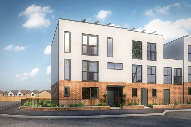 Thumbnail Town house for sale in The Avenue, Priors Hall Park, Weldon