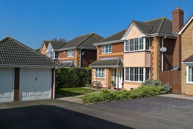 Thumbnail Detached house for sale in Sandover Close, West Winch, King's Lynn
