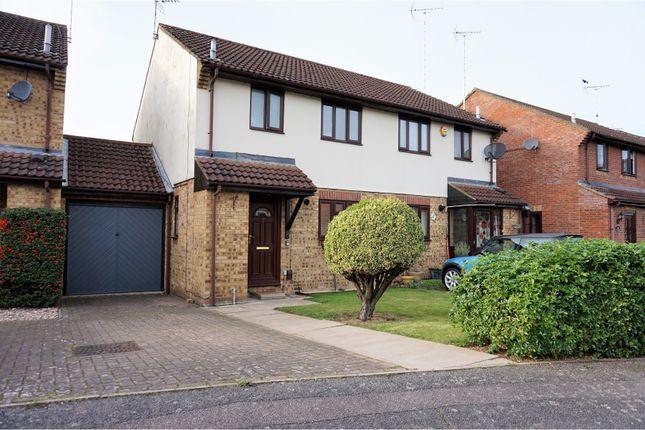 Thumbnail Semi-detached house for sale in Millstream Way, Leighton Buzzard
