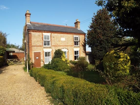 Thumbnail Equestrian property for sale in Outwell, Wisbech, Norfolk