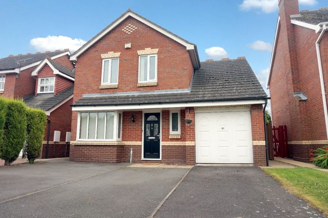 Thumbnail Detached house for sale in Mayfield, Tamworth