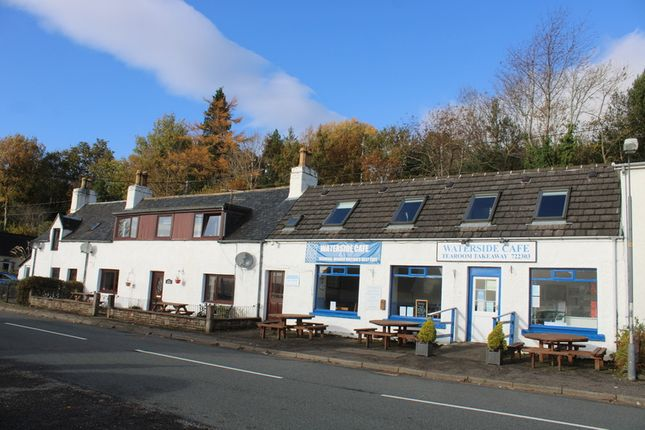 Thumbnail Leisure/hospitality for sale in Waterside Café, Self-Catering And Owners House, Main Street, Lochcarron, Strathcarron