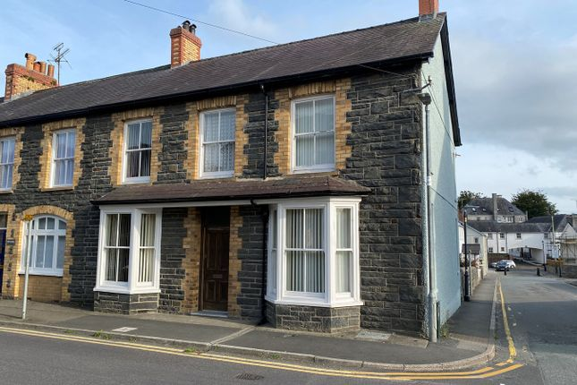 Thumbnail End terrace house for sale in Bryn Road, Lampeter, Lampeter