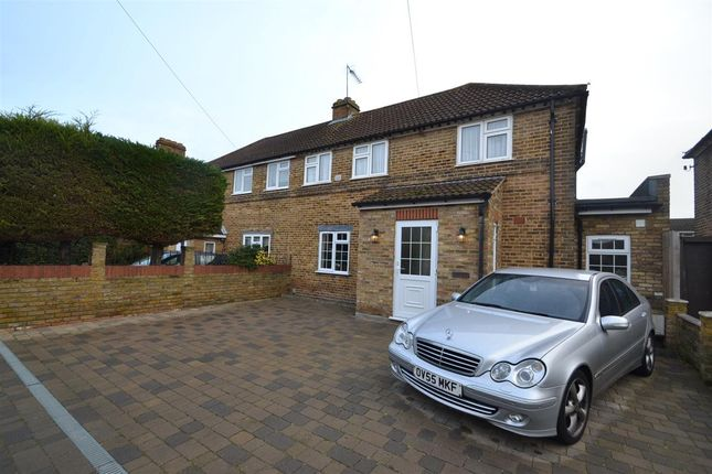 Thumbnail Semi-detached house for sale in Ashmead Road, Feltham