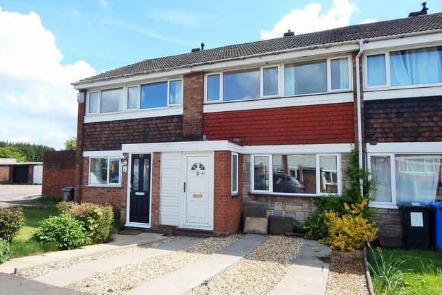 Thumbnail Terraced house to rent in Russett Close, Burntwood