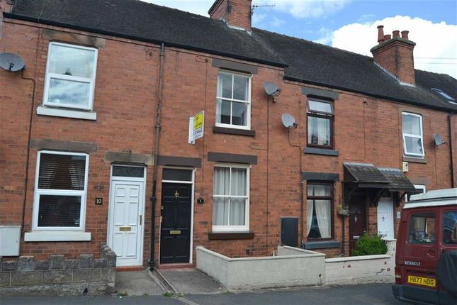 Thumbnail Terraced house for sale in North Avenue, Leek